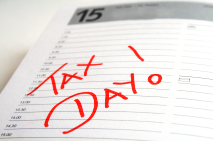 Egad, It's Tax Day!